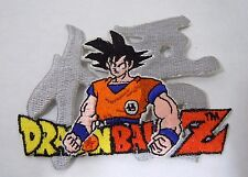 "DRAGON BALL Z- GOKU Embroidered  Iron-On Patch - 3.5"" Anime"