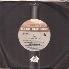 """Elton John - Passengers - 7"""" single"""