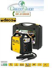 Saldatrice INVERTER ad elettrodo e TIG 150 Amp c/valigetta e acc. Deca - SIL 415