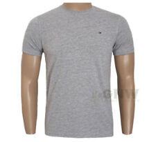 Magliette da uomo grigie Tommy Hilfiger taglia XL