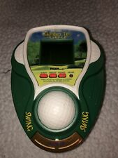 1999 Golden Tee Golf Handheld Electronic LCD Game Tiger Electronics