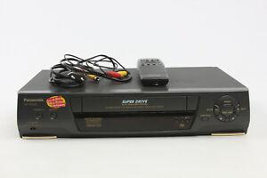 Panasonic VHS VCR NV SD 225 4 Head player recorder PAL NTSC made in Japan