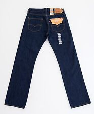 Levis 501 Jeans Authentic Button Fly Mens Classic Fit Many Colors Sizes Tags 34 30 Medium Stonewash Blue