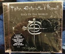 Edge of the World- Tipton, Entwistle & Powell (Cd, Mar-2006, Rhino) Metal Trio