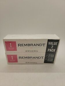 Rembrandt Intense Stain Whitening Toothpaste, Mint Flavor, 3.5 oz. (2 Pack)