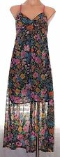 New Dream Out Loud Jr S, small hi-low spaghetti strap floral chifon sun dress