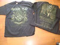 MACHINE HEAD CREST LYRICS RARE/OOP  LIC. 2011 DEADSTOCK shirt Sz XXL