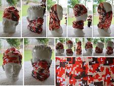 'CAMO' Head/Face/Mask/Neck Multi-wear tube Bandana/Durag.SPF5,Scarf/Wrap. 056