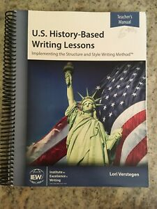 U.S. History-Based Writing Lessons [Teacher's Manual only] IEW