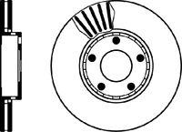 VAUXHALL ASTRA H MK5 1.9 CDTi 120 150 Sri Arrière 2 Disques De Frein Ensemble Neuf 264 mm