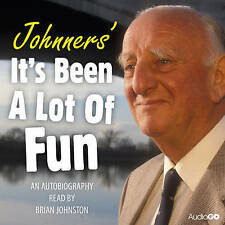 BRIAN JOHNSTON - JOHNNERS IT'S BEEN A LOT OF FUN - CD AUDIO BOOK - NEW/SEALED