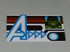 Marvel Heroclix Age of Ultron Hulk ID Card AUID-102