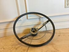 1964 Chevy Bel Air Impala SS Caprice Biscayne steering wheel and horn ring OEM
