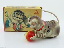 Blechspielzeug - Köhler Katze im Original Karton U.S. Zone astreiner Zustand