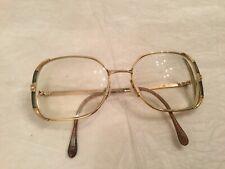 Vntg Women's glasses Handmade in Italy 135 Gp 18K 50/18 Jewelry By Gemini N. 2