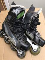 Mission Inhaler AC7 Inline Roller Hockey Skates Size 10 E