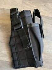 Black adjustable MOLLE pistol holster Airsoft