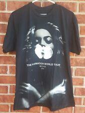 BEYONCE THE FORMATION WORLD TOUR 2016 Original Authentic Concert T-shirt Sz L