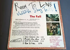 THE FALL'Room to Live'' LP 33RPM,uk 1st press 1982,kamera records.