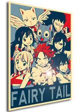 Poster Propaganda - Fairy Tail - Characters