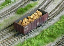 HO scale WAGON LOAD ~ 'RUSTY METAL DRUMS' ~ suit RAILWAY, MODEL TRAIN