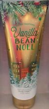 BATH & BODY WORKS VANILLA BEAN NOEL ULTRA SHEA BODY CREAM 8 OZ EACH