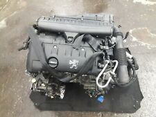 Peugeot 207 1.6 Petrol 5FW COMPLETE ENGINE WITH GEARBOX 80561 Miles 1.6 SPORT