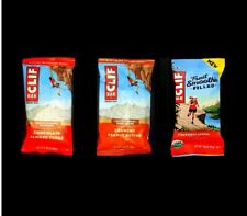 80 CLIF ENERGY BAR STRAWBERRY FILLED BANANA CRUNCHY PEANUT BUTTER ALMOND FUDGE