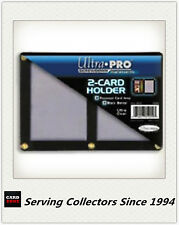 Ultra PRO 2-Card Black Border Screwdowns x 1 - 1 Pair of  Standard Trading Card