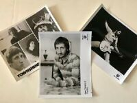 Pete Townshend The Who Promo Press Photo 1970s Lot of 3