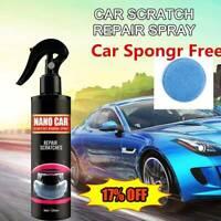 Nano Car Scratch Removal Spray Repair Polish Ceramic Coating Liquid 120ML&Sponge