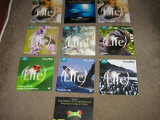 JOB LOT 10 x  DAILY MAIL PROMO  BBC EARTH LIFE DVDs  DAVID ATTENBOUROUGH