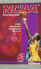 1999 NCAA Mens East Regional, New Jersey Official Program