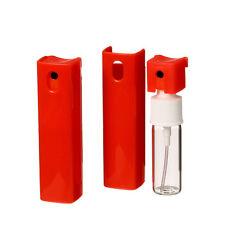 12 Refill Purse Perfume Oil Spray Pump Atomizer Empty Bottle 10 ML 1/3 OZ Red