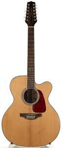 Takamine GJ72CE 12-String Acoustic-Electric Guitar - Natural - Body Cracks