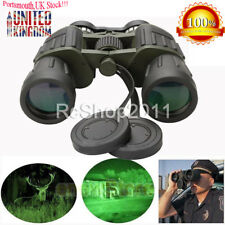 60x50 Zoom Day/Night Military Army Powerful Binoculars Optics Hunting Camping UK