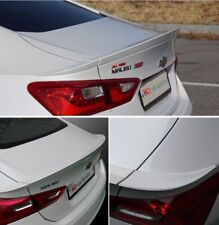 Fits 2016~2019 Chevrolet Malibu Rear Trunk Wide Lip Spoiler Painted 4Color Wing