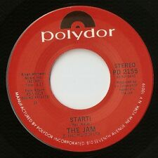 """THE JAM START & WHEN YOU`RE YOUNG US 7"""" 1980 MOD REVIVAL 1 OF 2 LABEL VARIATIONS"""