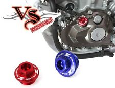 ZETA Engine Oil Filler Plug BLUE YAMAHA YZF YZ250F YZF250 01-12 YZF450 YZ450F