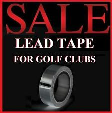 """Golf Club Lead Tape 1/2"""" x 100"""" Sticky Back-Driver Wood Irons Putter Swingweight"""