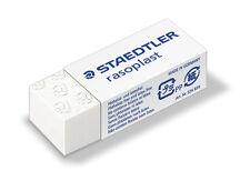 2 X Staedtler Rasoplast Pencil Eraser Rubber 526 B30