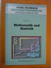 Fuchs,Erich: Mathematik und Statistik / Wirtschaftsinformatik Ergänzungsfächer