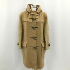 Burberry's Duffle Coat Size UK14 Thigh Length Brown Hooded Women's Winter 292399