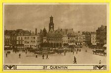 CPA ALLEMANDE Postkarte Verlag GAZETTE des ARDENNES SAINT QUENTIN ecrite en 1918