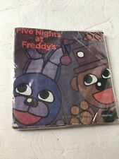 """Five Nights At Freddys FNAF Party Napkins New 13"""" Square"""