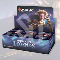 MAGIC: THE GATHERING COMMANDER LEGENDS BOOSTER BOX | MTG