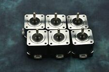 Set of 6 NEMA-17 42mm 2-phase Hybrid Stepper Motor
