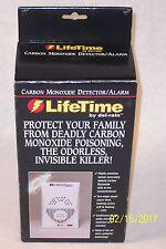 Lifetime Carbon Monoxide Detector/Alarm 95 dB by Del-Rain New