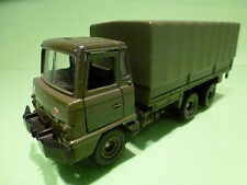 DINKY TOYS 668 FODEN ARMY TRUCK - ARMY GREEN 1:43? - GOOD CONDITION - MILITARY