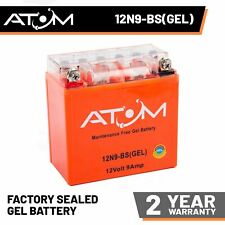 YB9-B Atom Gel Motorcycle Battery 12V 9Ah for Lexmoto Adrenaline 125